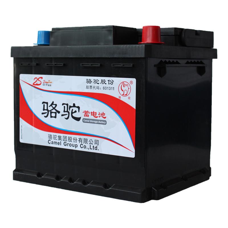 骆驼蓄电池12v40ah比亚迪f0专用新捷达专用配套汽车电瓶54017